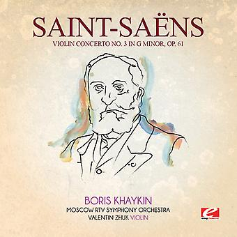 Saint-Saens - Violin Concerto 3 in G Min 61 USA import