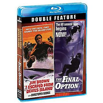 I Escaped From Devil's Island/Final Option [BLU-RAY] USA import
