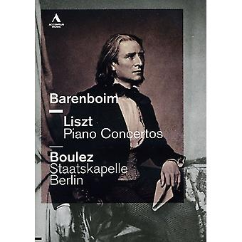 Liszt/Wagner - Piano Concertos [DVD] USA import