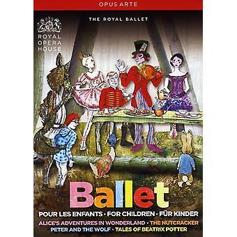 Ballet for børn [DVD] USA importerer