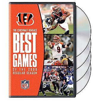 NFL Cincinnati Bengals bedste spil i 2009 regelmæssige [DVD] USA importerer