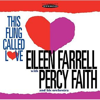 Eileen Farrell - This Fling Called Love [CD] USA import