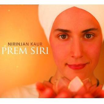 Nirinjan Kaur - Prem Siri [CD] USA import