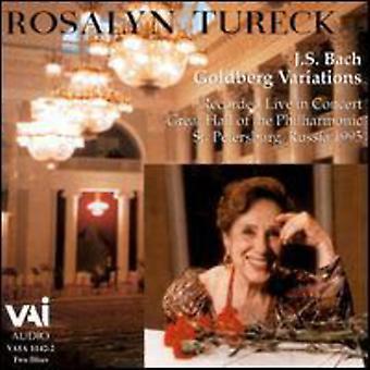 Rosalyn Tureck - Bach: Goldbergvariationerna [CD] USA import