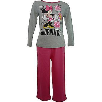 Ragazze Disney Minnie Mouse manica lunga pigiama HM2036
