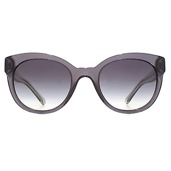 Burberry Cateye Sunglasses In Dark Grey