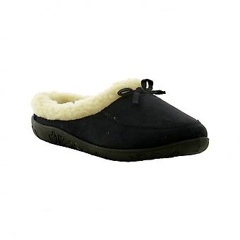 Padders Womens Slippers Snug Navy