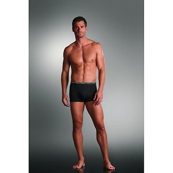 Jockey 2-Pack Modern Classic Boxer Trunks, Black