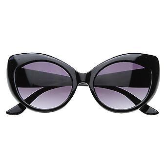 Overdimensionerede Vintage inspirerede Super & fed Retro Designer Cat Eye solbriller