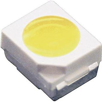 SMD LED PLCC2 Yellow 350 mcd 120 ° 20 mA