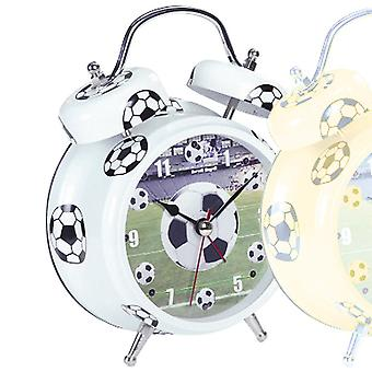 Football alarm clock quartz flashing LED when the alarm signal sounds
