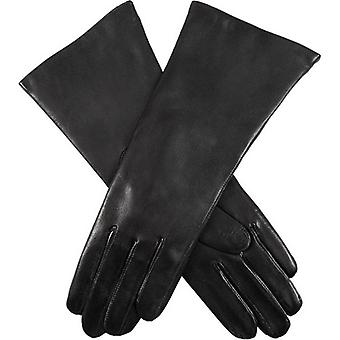 Dents Helene Cashmere Lined Hairsheep Leather Gloves - Black