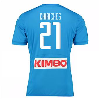 2016-17 Napoli authentiek thuis Shirt (Chiriches 21)