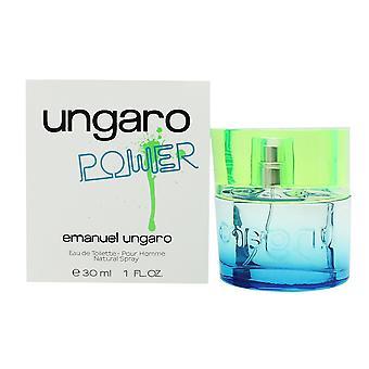 Emanuel Ungaro Power Eau de Toilette 30ml EDT Spray