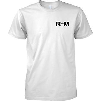 RM Commando Dagger - Royal Marines - Naval Elite Forces - Kids Chest Design T-Shirt