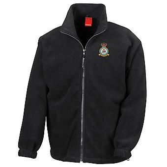 Syerston RAF Station Embroidered Logo - Official Royal Air Force Full Zip Fleece