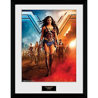 Wonder Woman gruppe samler Print