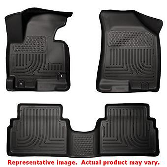 Husky Liners 99831 Black WeatherBeater Front & 2nd Seat FITS:HYUNDAI 2014 - 201