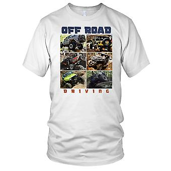 4x4 Offorad Driving Jeep Landrover Ladies T Shirt