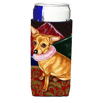 Kissen Prinzessin Chihuahua Ultra Getränke Isolatoren für schlanke Dosen
