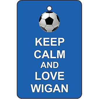 Keep Calm And Love Watford Car Air Freshener