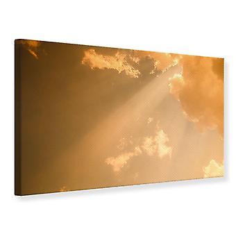 Canvas Print Evening Sky