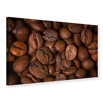 Canvas Print Close Up Coffee Beans
