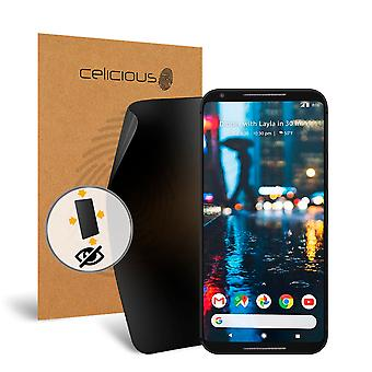 Celicious Privacy Plus Google Pixel 2 XL 4-Way Visual Black Out Screen Protector