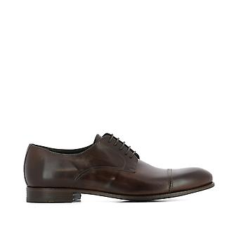 J.Wilton men's 2823015MORO brown leather lace-up shoes