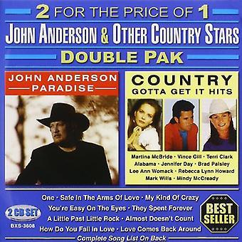 John Anderson - John Anderson & andre land stjerner [CD] USA import