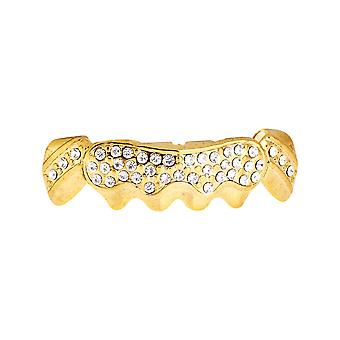 One size fits all - SHINING BOTTOM - gold bling Grillz