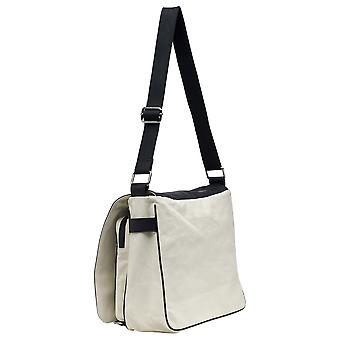 Burgmeister ladies shoulder bag T200-250 canvas/leather