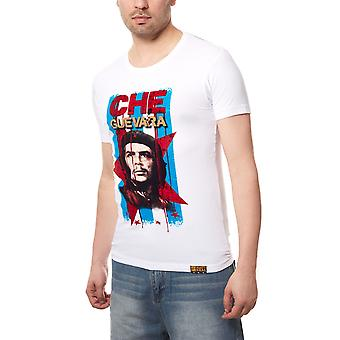 RUSTY NEAL Guevara mens T-Shirt white avec Figure