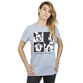 Disney Women's Mickey Mouse Wink Boyfriend Fit T-Shirt