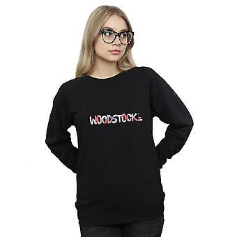 Logo Sweatshirt Floral Woodstock féminines