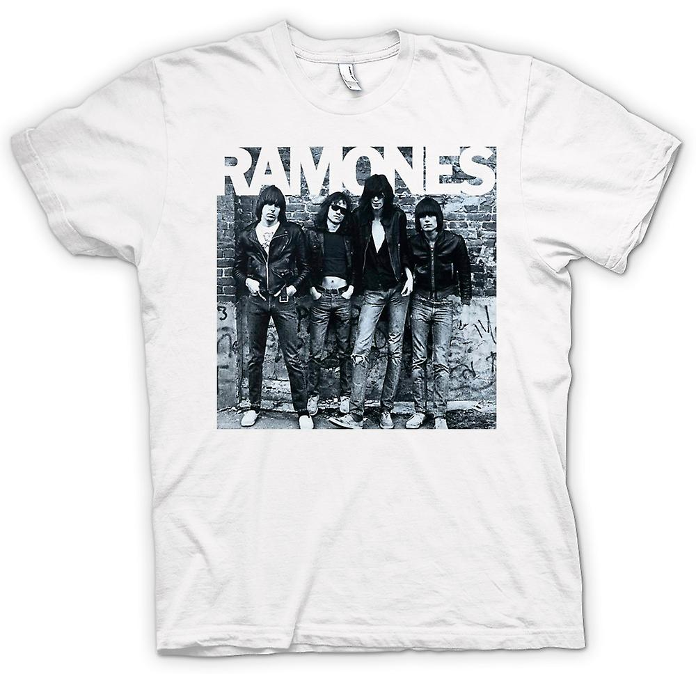 Mens T-shirt-Ramones - Punk-Rock - Album-Cover