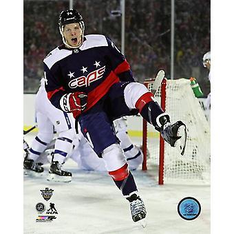 John Carlson 2018 NHL Stadium Series Photo Print