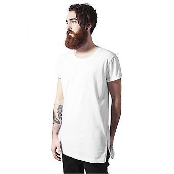 Urban classics T-Shirt long shaped side zip tee