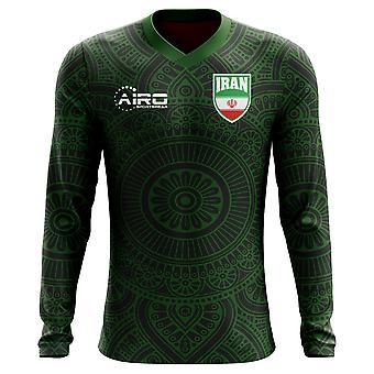 2018-2019 Iran lange mouw voetbalshirt derde Concept (kinderen)