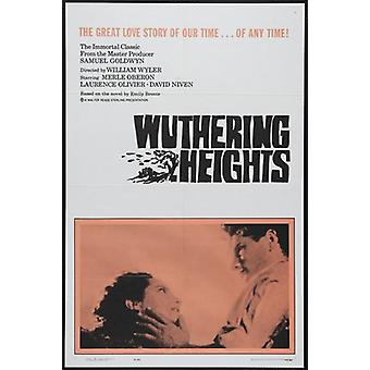 Locandina del film Wuthering Heights (11 x 17)