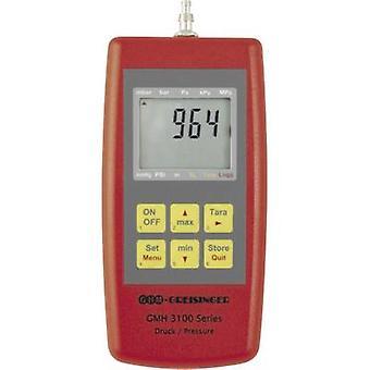 Manómetro presión aire Greisinger GMH3161-12, gas no corrosivo, Corrosiv