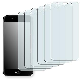 WIKO WIM Lite screen protector - Golebo Semimatt protector (deliberately smaller than the display, as this is arched)
