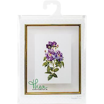 Rhapsody In Blue On Aida Counted Cross Stitch Kit-17.25