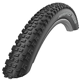 SCHWALBE rapid Rob (SBC) bicycle tyres / / 57-622 (28 × 2, 25″ Pinback)
