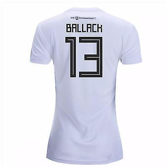 2018-19 Germany Home Womens Shirt (Ballack 13)