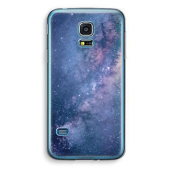 Samsung Galaxy S5 Mini Transparent Case (Soft) - Nebula