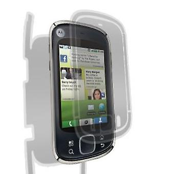 Gadget Guard Screen Protector voor Motorola CLIQ XT - Full Body