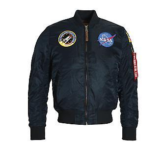 Alpha Industries MA-1 VF NASA Astronaut Flight jacka | Rep blå