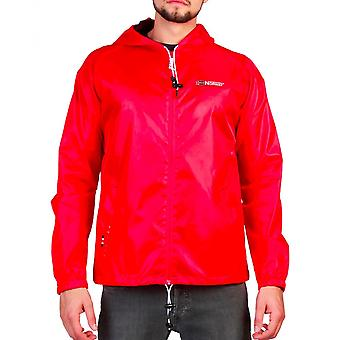 Geographical Norway Mens Red Boat Man Jacket