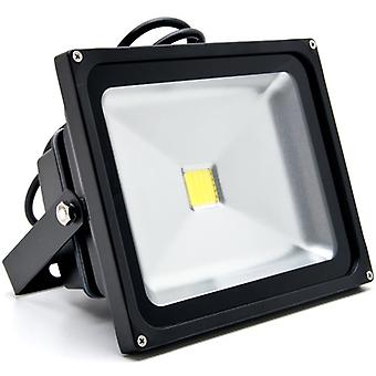Biltek 30W LED Flood Light Cool White High Power Outdoor Spotlights Industrial Lighting Home Security Lighting Outdoor House Business Surveillance Safety Wall Washer High Building Ad Billboard Garden